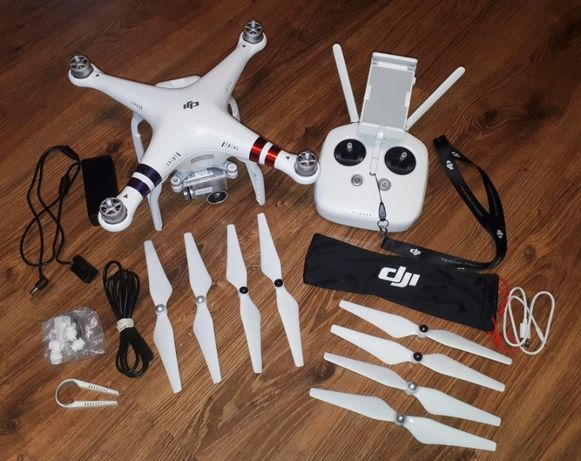 Dron DJI Phantom 3 Advanced - jak nowy !