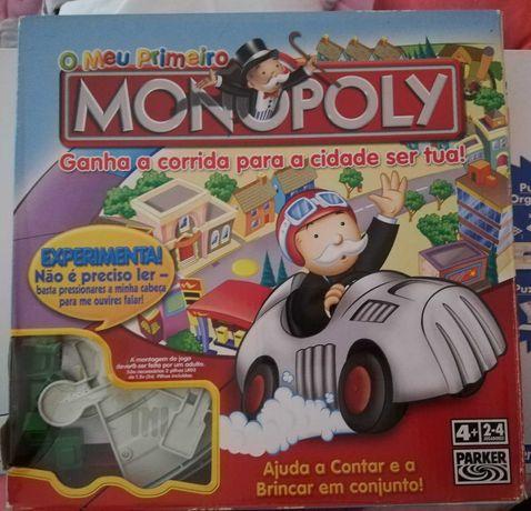 Jogo O Meu Primeiro Monopoly