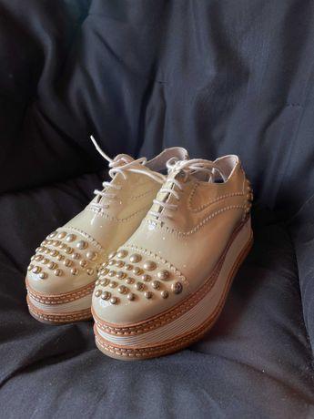 Sapatos Plataforma Eureka Tam 38