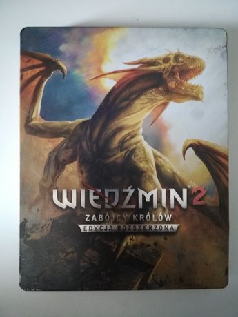 Wiedźmin 2 Zabójcy Królów Edycja Rozszerzona STEELBOOK