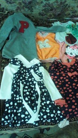 Одяг для дівчинки,плаття,туніку, гольф, кофта