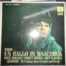 Un Ballo In Maschera - Erich Leinsdorf Winyl