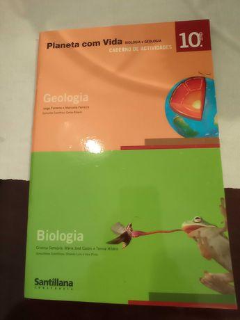 Caderno de atividades Biologia e Geologia