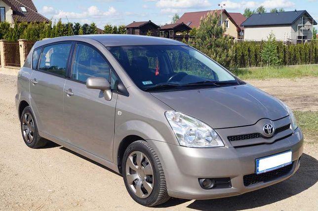 Ładna Toyota Corolla Verso 1.8benz.