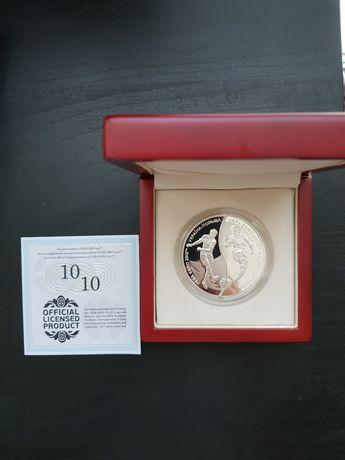 Moneta 10 zł + 10 HRYWIEN - ZESTAW EURO 2012