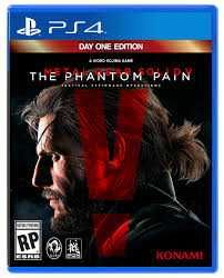 Metal Gear Solid 5: The Phantom Pain na ps4