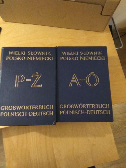 Słowniki wielki polsko niemiecki Podgórzyn - image 1