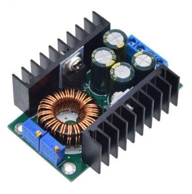 DC-DC Преобразователь понижающий (300Вт, 9А),регулировка тока напряжен