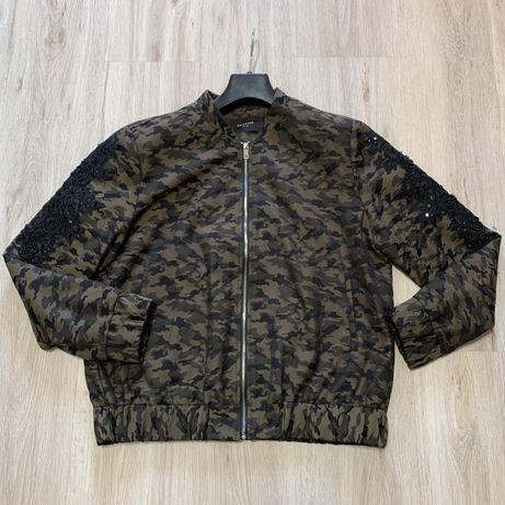 Бомбер Reserved, пиджак, кофта на молнии