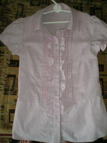Блузка школьная размер 40 (рост 158 см)