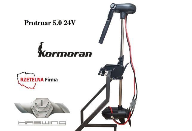 Silnik elektryczny do łódki Haswing Protruar 5.0 160lbs DOSTĘPNY !