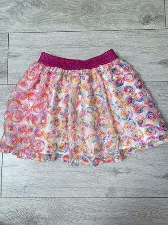 Шикарная нарядная юбка на 7-8 лет
