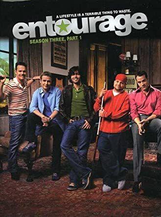 Entourage 3ª temporada, parte 1 - Edição sueca legendas PT, 3 DVD