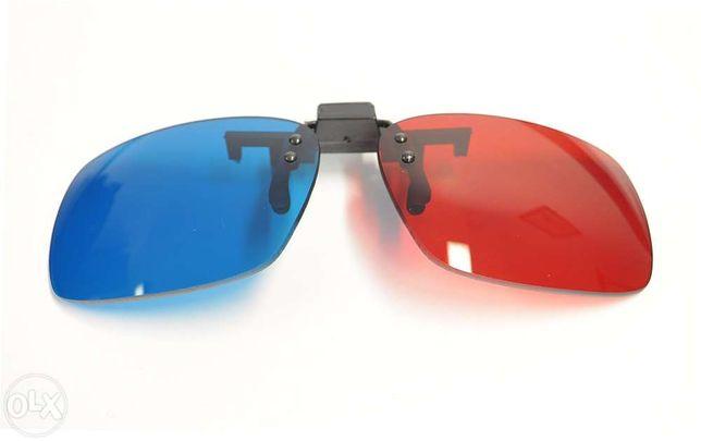 ÓCulos para 3D - lentes com clip