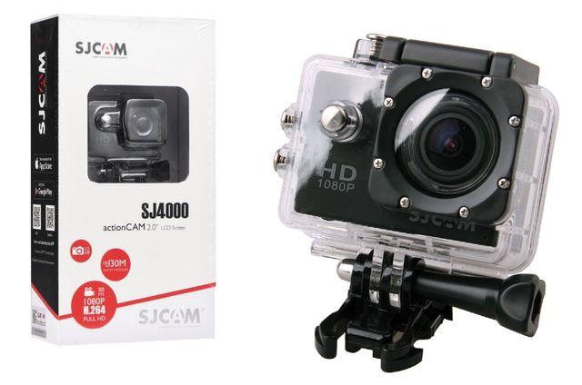 Sprzedam kamerę Kamera SJCam SJ4000 Czarna Full HD (1080p) CMOS LCD