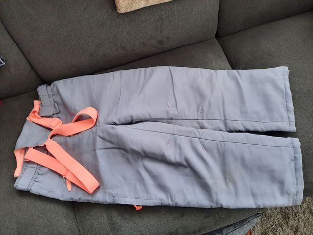 Spodnie narciarskie rozm 128