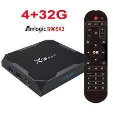 X96 MAX Plus + 4/32GB Amlogic S905X3 Андроид 9 Smart TV Box