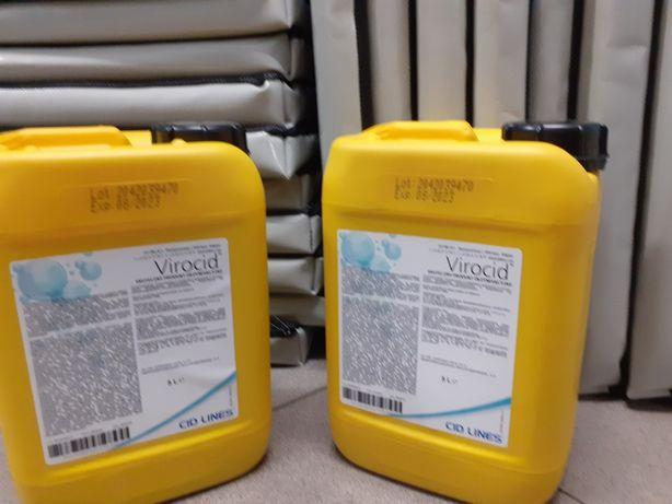 Płyn do dezynfekcji w rolnictwie Virocid 5l ochrona przed Ptasia grypa