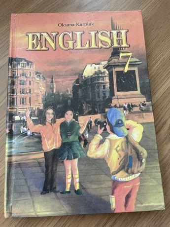 Английский язык, 7 класс