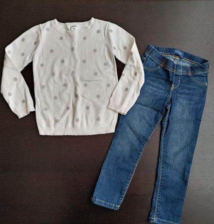 Свитер Carter's 4, джинсы Old navy 4t, джеггинсы carters gap carter's