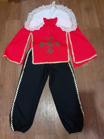 Костюм, мушкетёра, Гвардеец Кардинала, рост 164, Freddy costumes