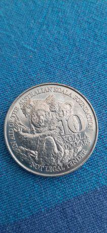 Moneta 10 dollars