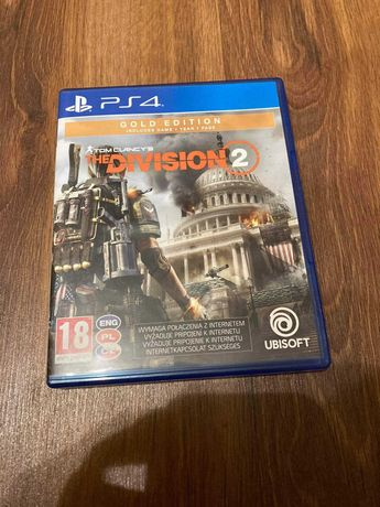Płyta The Division 2  Gold Edition na PS4