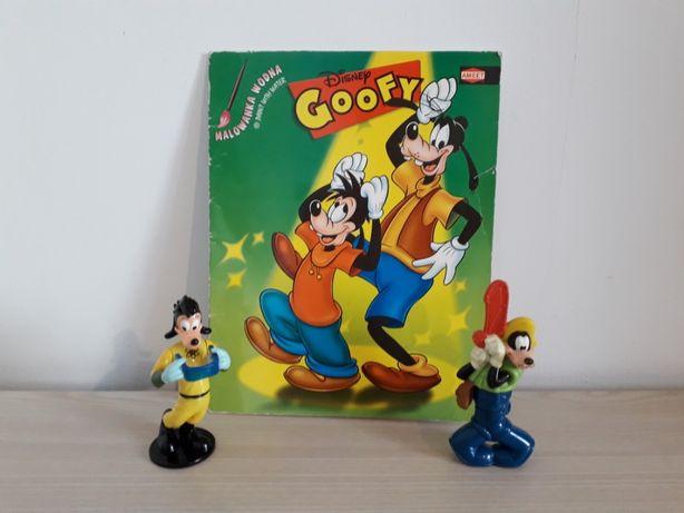 Goofy na wakacjach malowanka na mokro i figurki Max Mcdonald's 1995