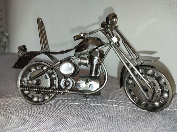 Metalowy Motocykl Model