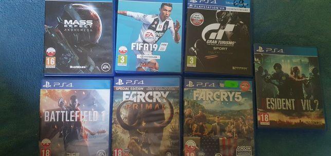Zamienię gry PS4