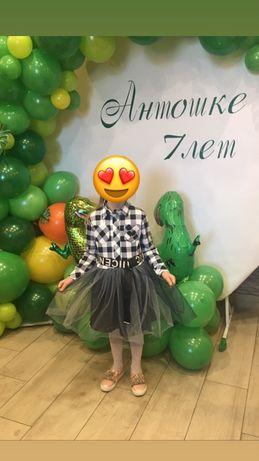 Продам детское, нарядное платье 128р.