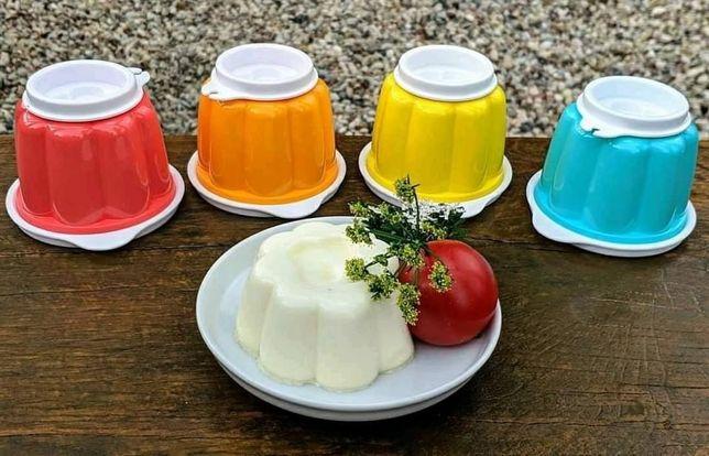 4 Mini-Formas de Pudins Tupperware