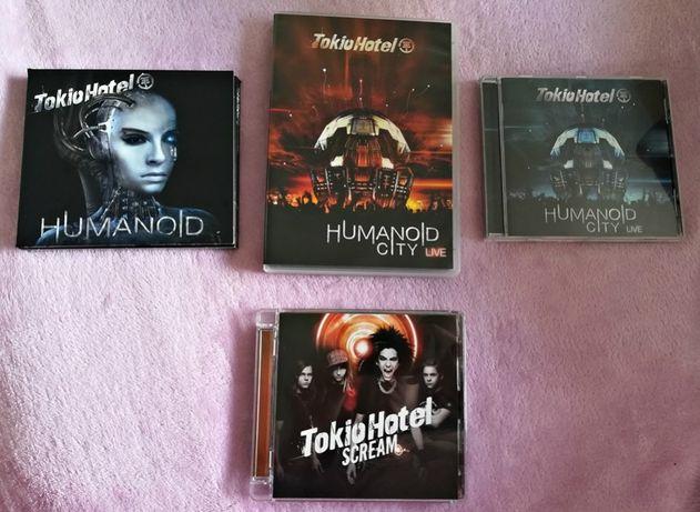 Colecção Tokio Hotel - T-shirt, CD'S, DVD...