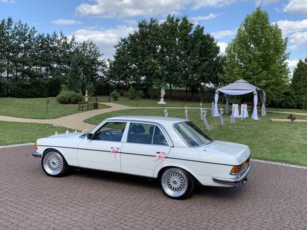 Mercedes w123 do ślubu