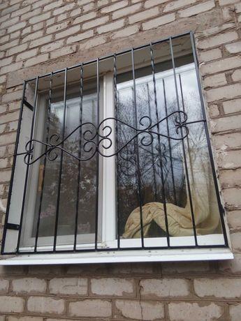 решетки на окна метал. двери итд.