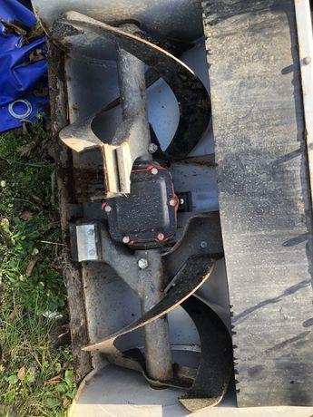 Pług wirnikowy wałek mocy Wom dzik traktorek 70 cm