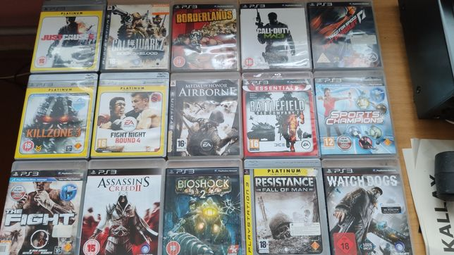 Gry PS3