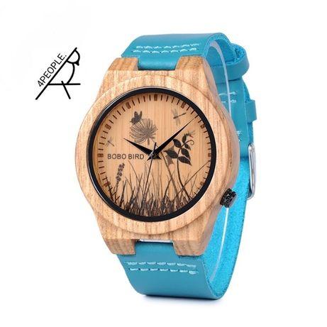 Oryginalny BoboBird zegarek damski Drewniany firmy Bobo Bird Gwarancja
