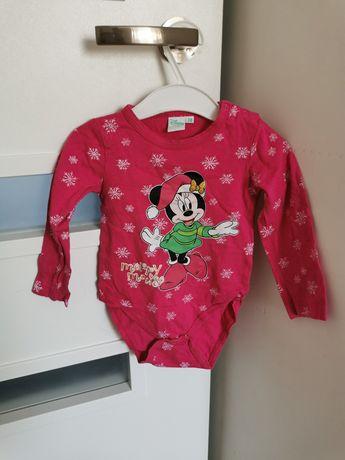 Body długi rękaw Disney baby 74/80