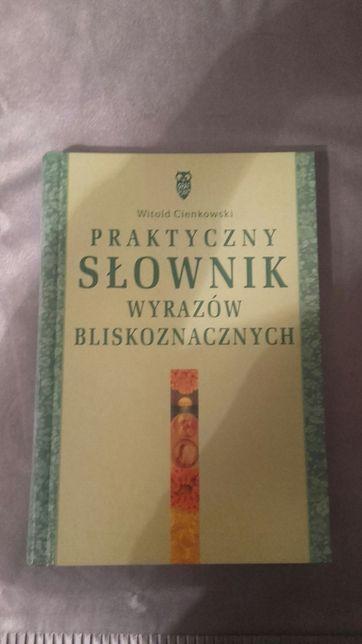 słownik wyrazów bliskoznacznych, witold cienkowski