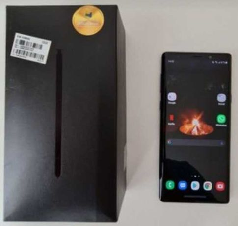 Samsung Note 9 128GB/6GB deep blue impecável