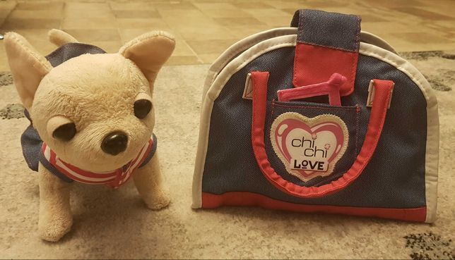 chi chi love piesek z torbą