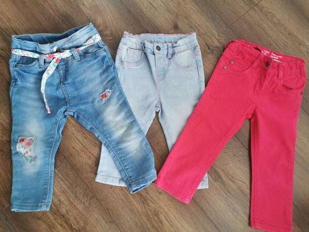 Ubranka dla dziewczynki 80-86