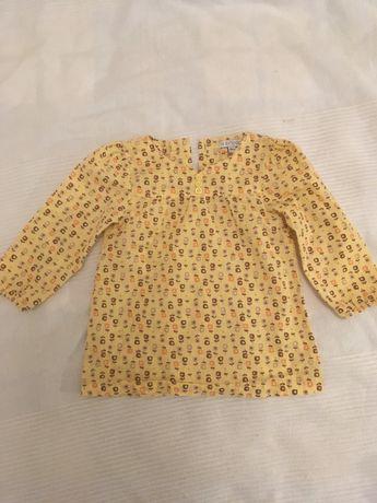 Bluzeczka tunika in extenso
