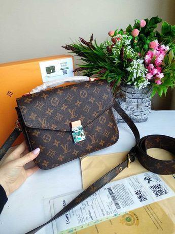 Сумка Louis Vuitton metis mini женская кожа купить в Украине