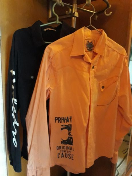 продается одежда на подростка : брюки , рубашки , безрукавки р. 44 б/у