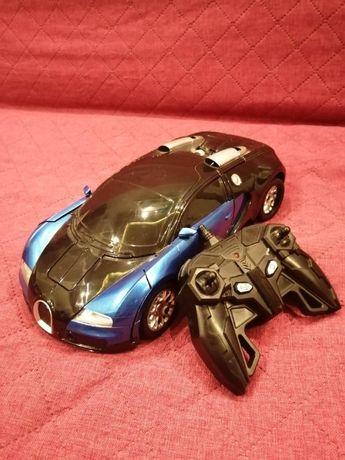 Zdalnie sterowany Auto-Robot 2w1