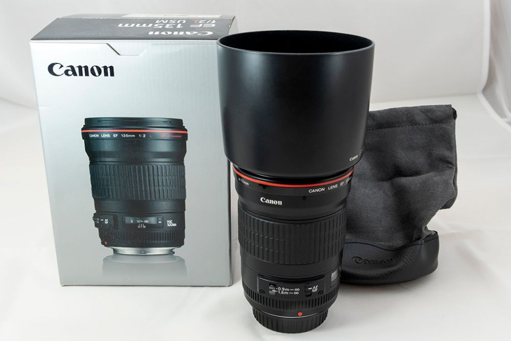Canon EF 135mm f/2.0 L USM. Состояние идеальное. Киев - изображение 1