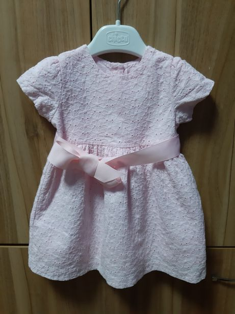 Платье для маленькой принцессы! Фирмы Chicco! Размер 12 мес.
