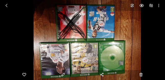 Gry FIFA 16-19 Xbox one